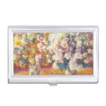 Chrysanthemums by Monet Business Card Case
