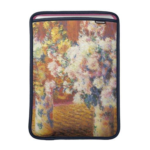 Chrysanthemums by Monet iPad Sleeves