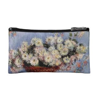 Chrysanthemums - Claude Monet Makeup Bags