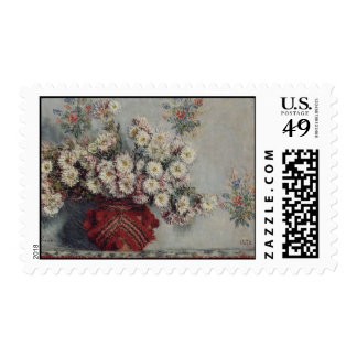 Chrysanthemums - Claude Monet Stamps