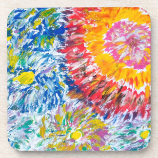 Chrysanthemums Coasters - Original Art