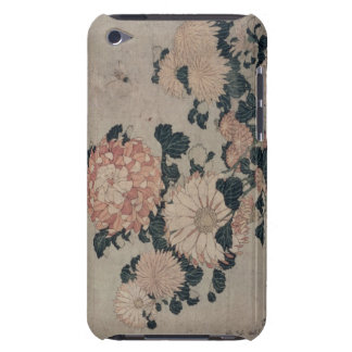 Chrysanthemums (colour woodblock) barely there iPod cover