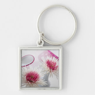Chrysanthemums Keychain