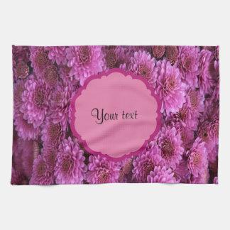 Chrysanthemums Kitchen Towel