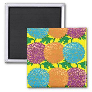 Chrysanthemums Refrigerator Magnet