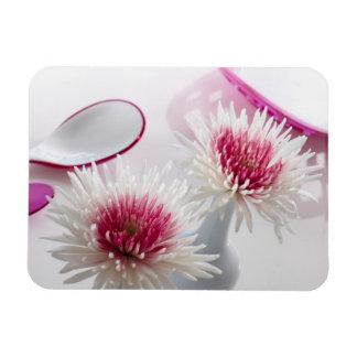 Chrysanthemums Rectangle Magnet