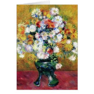 Chrysanthemums   Renoir Card