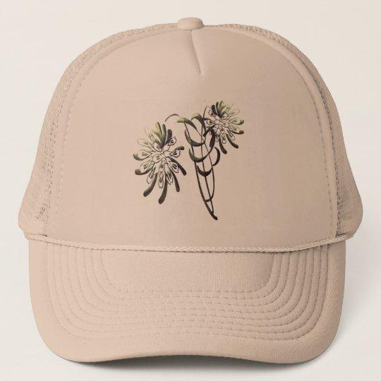 Chrysanthemums Trucker Hat