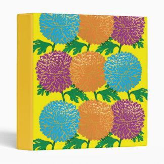Chrysanthemums Vinyl Binders