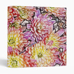 Chrysanthemums Within the Lines Binder