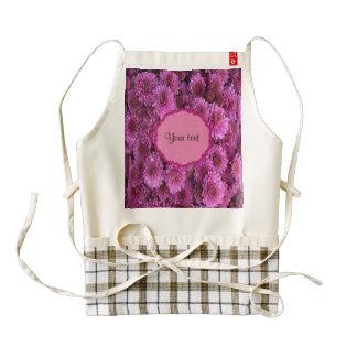 Chrysanthemums Zazzle HEART Apron