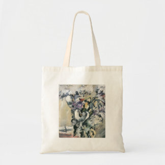Chrysanthimums and Calla Lillies by Lovis Corinth Bags