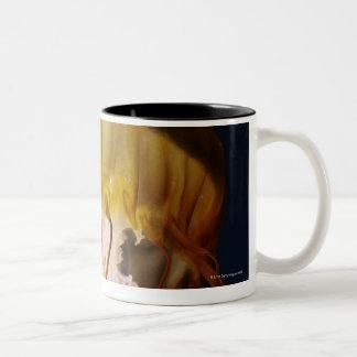 Chrysaora fuscescens,  Pacific Sea nettle Two-Tone Coffee Mug