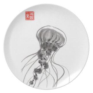 Chrysaora Jellyfish Plate