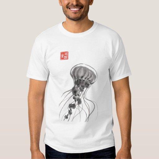 Chrysaora Jellyfish Watercolor T Shirt