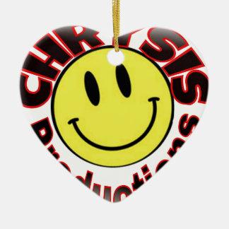 Chrysis Bulk Ceramic Ornament