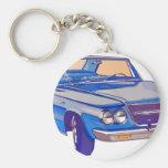 Chrysler 1963 Saratoga Llavero Redondo Tipo Pin