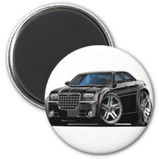 Chrysler 300 Black Car 2 Inch Round Magnet