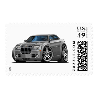Chrysler 300 Grey Car Postage