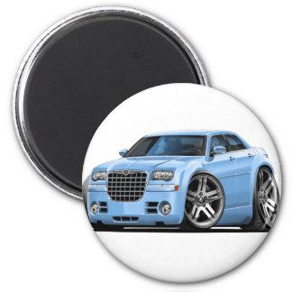 Chrysler 300 Lt Blue Car 2 Inch Round Magnet