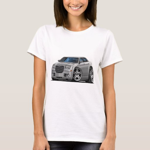 Chrysler 300 Silver Car T-Shirt