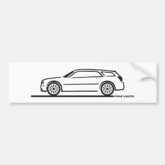 Chrysler 300 Station Wagon Bumper Sticker