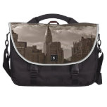 Chrysler Building and New York Skyline Laptop Bags