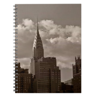 Chrysler Building and New York Skyline Notebook