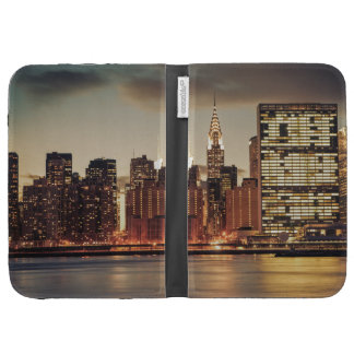 Chrysler Building and NYC Skyline Kindle Keyboard Cases