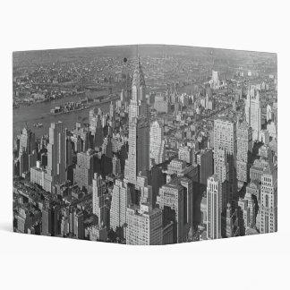 Chrysler Building and Queensboro Bridge NYC 1932 Binder