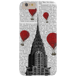 Chrysler Building and Red Hot Air Balloons Barely There iPhone 6 Plus Case