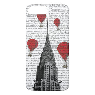 Chrysler Building and Red Hot Air Balloons iPhone 7 Plus Case