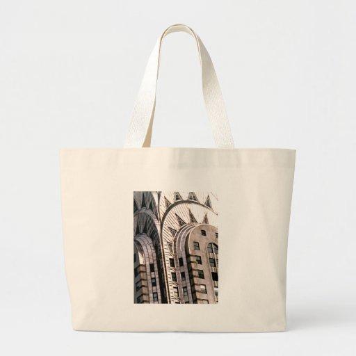 Chrysler Building: Close Up View Jumbo Tote Bag