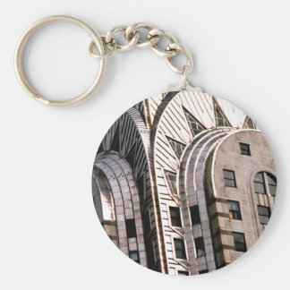 Chrysler Building: Close Up View Key Chain