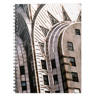 Chrysler Building: Close Up View Spiral Notebook