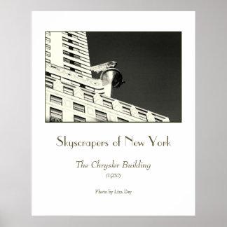 Chrysler Building (Detail) Poster