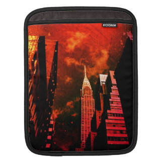 Chrysler Building - Distant Past - New York City Sleeves For iPads
