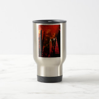 Chrysler Building - Distant Past - New York City Travel Mug