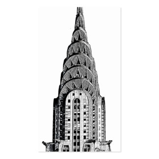 Chrysler Building Dome Business Card Templates