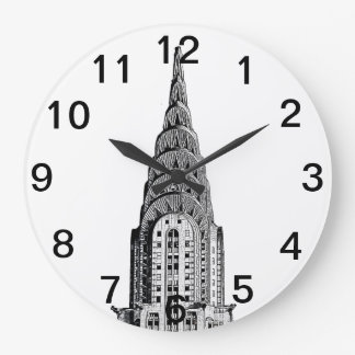 Chrysler Building Dome Large Clock