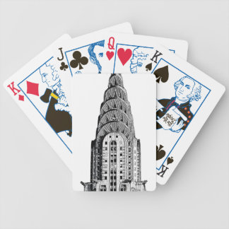 Chrysler Building Dome Bicycle Poker Cards