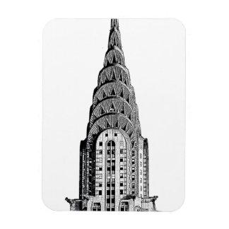 Chrysler Building Dome Rectangular Photo Magnet