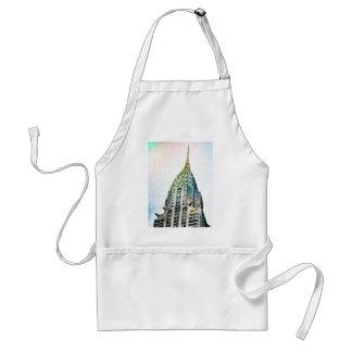 Chrysler Building - Frozen - New York City Adult Apron