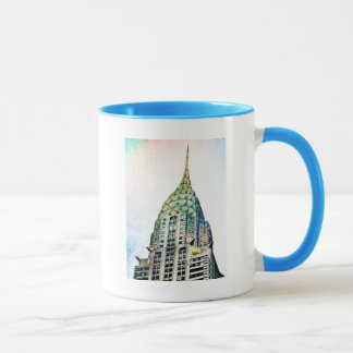 Chrysler Building - Frozen - New York City Mug