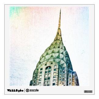 Chrysler Building - Frozen - New York City Wall Decal
