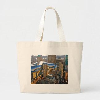 Chrysler Building Gargoyle Canvas Bags