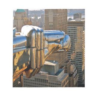 Chrysler Building: Gargoyle Memo Notepad