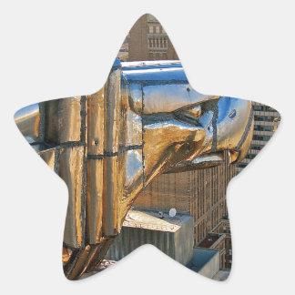 Chrysler Building: Gargoyle Star Sticker