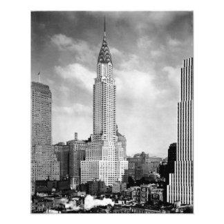 Chrysler Building, IMPRESIÓN 1930 de la FOTO Fotografías