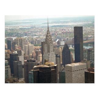 Chrysler Building Midtown Manhattan New York Postcard